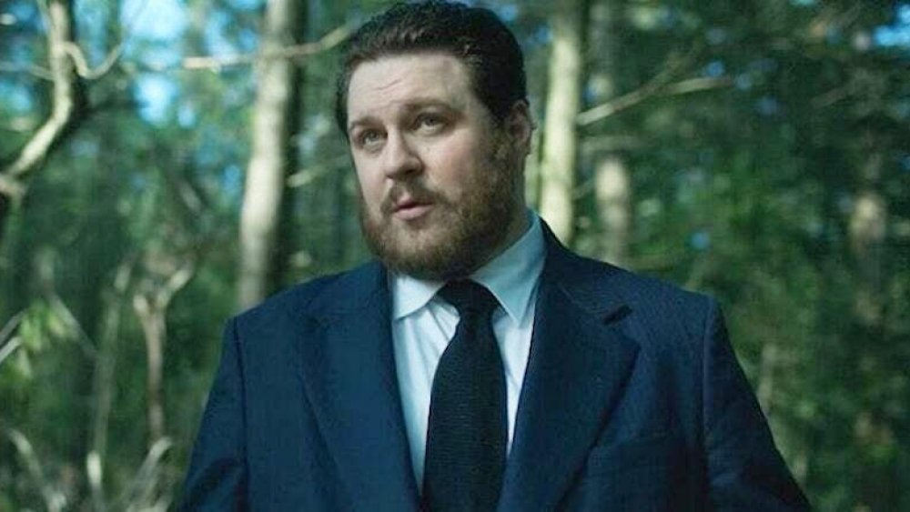 Cameron Britton as Hazel in The Umbrella Academy