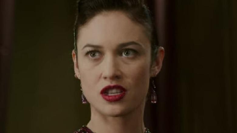 Headmistress Kirova wearing earrings