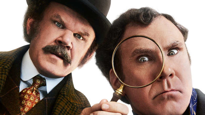 John C Reilly and Will Ferrell in Holmes and Watson