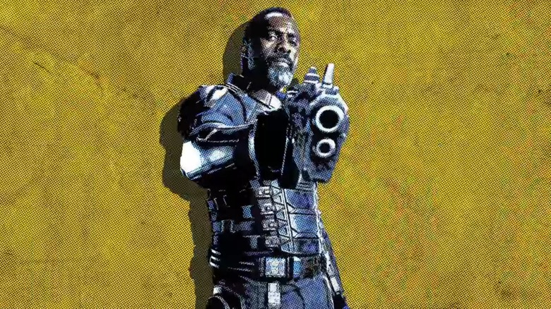 Idris Elba as Bloodsport in The Suicide Squad