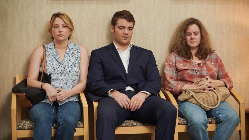 Gabriel Basso, Haley Bennett, and Amy Adams in Hillbilly Elegy