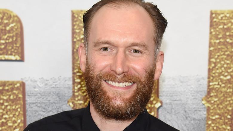 Mark Ashworth smiling