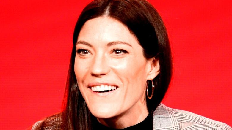 Jennifer Carpenter smiling