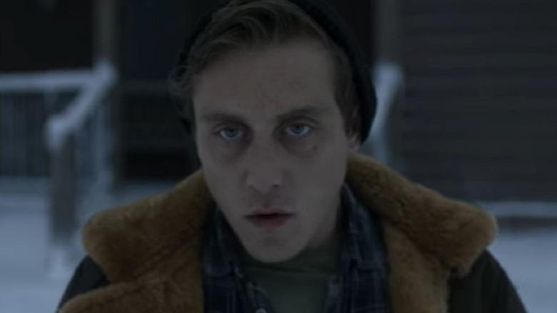 Jimmy in winter coat