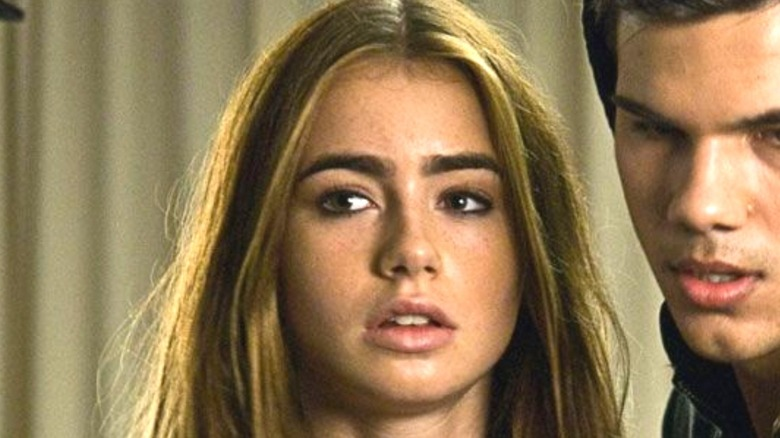 Lily Collins in 'Abduction'