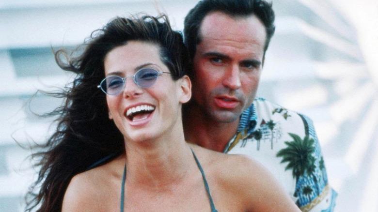 Sandra Bullock and Jason Patric in Speed 2: Cruise Control
