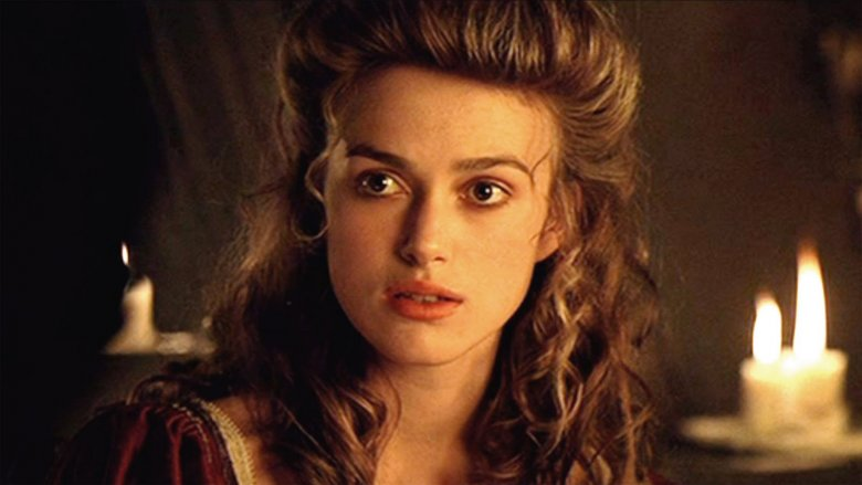 Keira Knightley in the Pirates of the Caribbean franchise