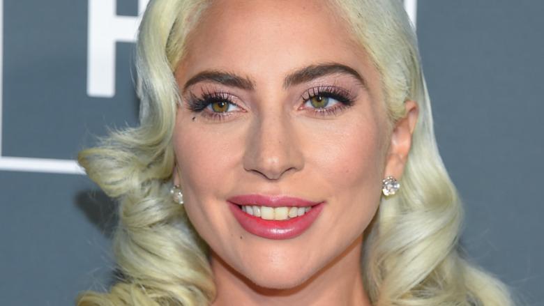 Lady Gaga with Monroe curls