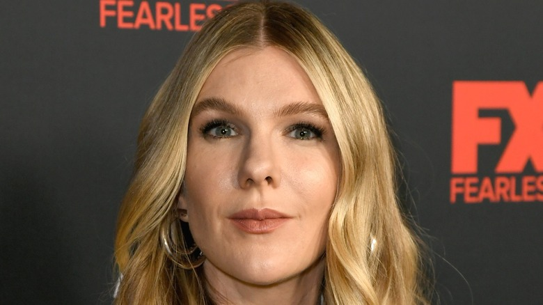 Lily Rabe Face AHS Premiere