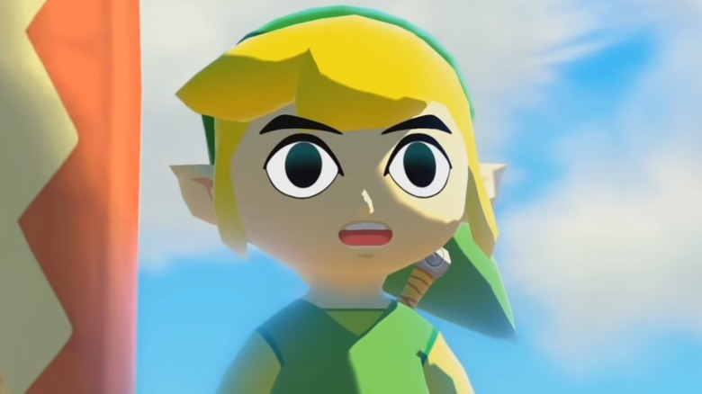 Link in the Wind Waker