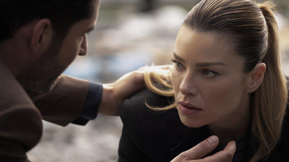 Lauren German as Chloe Decker on Lucifer