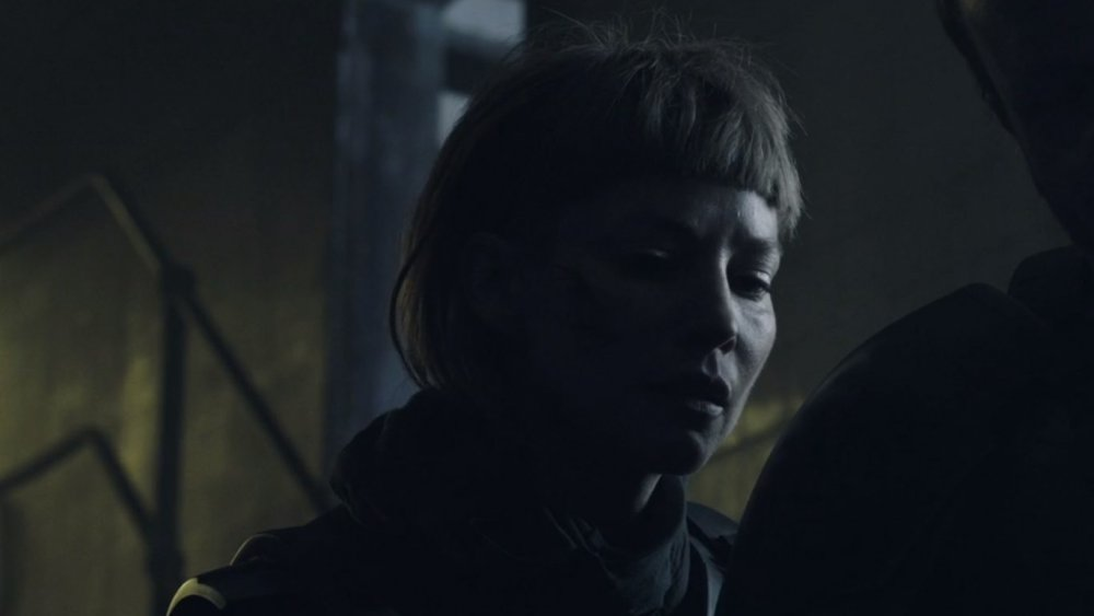 Sienna Guillory in Raised by Wolves