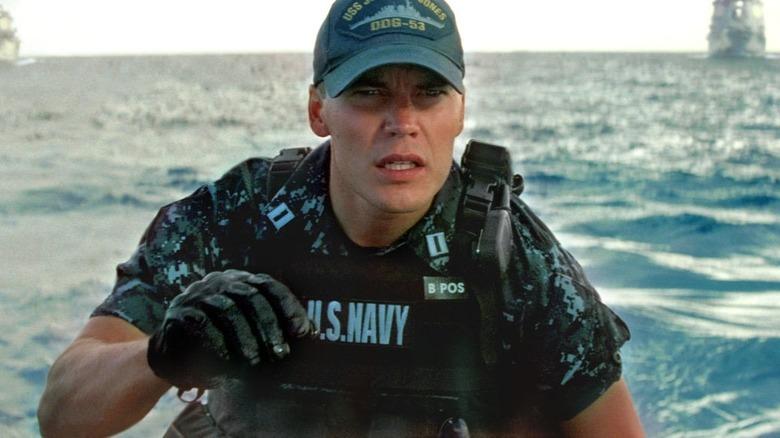 Alex Hopper on a boat
