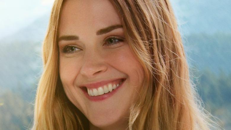 Mel smiling