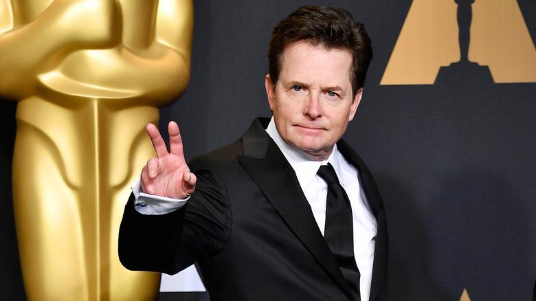 Michael J. Fox at the Oscars