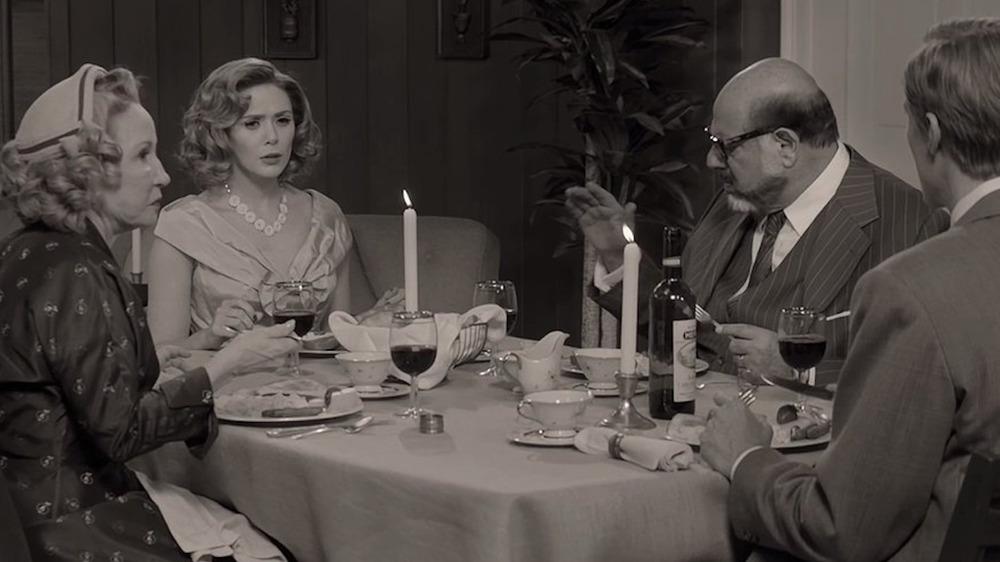 Dinner scene WandaVision