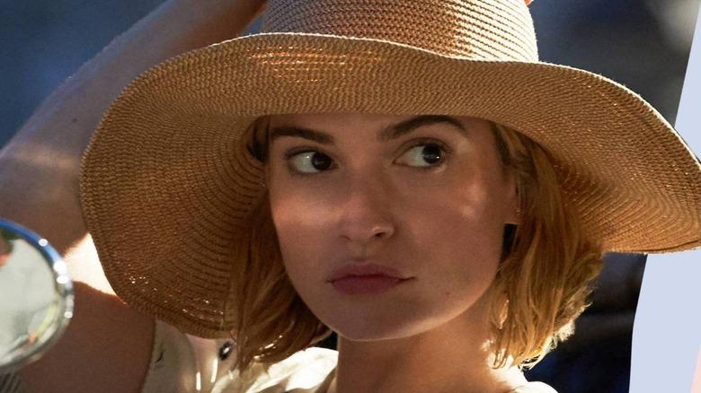 Lily James stars as Mrs. de Winter in Netflix's Rebecca