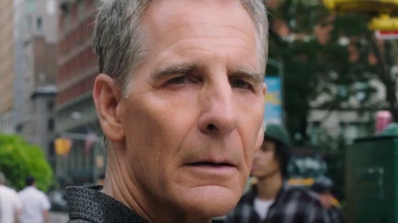 Dwayne Pride squinting in NCIS: NOLA