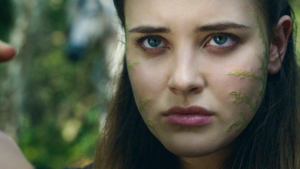 Katherine Langford as Nimue on Netflix's Cursed