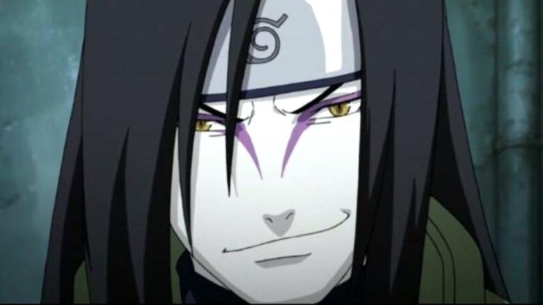 Orochimaru smirking
