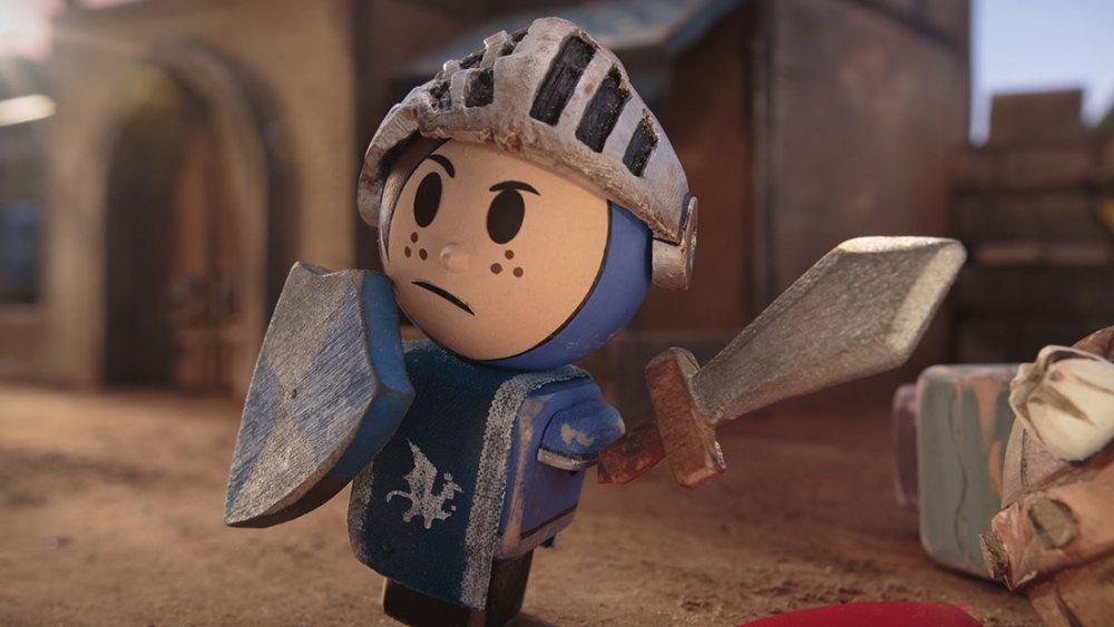 Patrick from Hulu's Crossing Swords