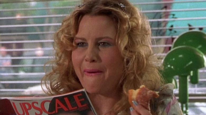 Paulette reads Upscale magazine