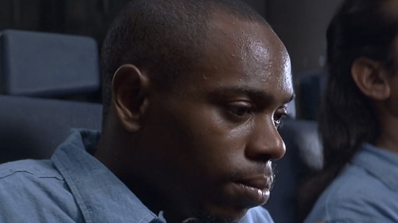 Dave Chappelle Pinball Parker on plane