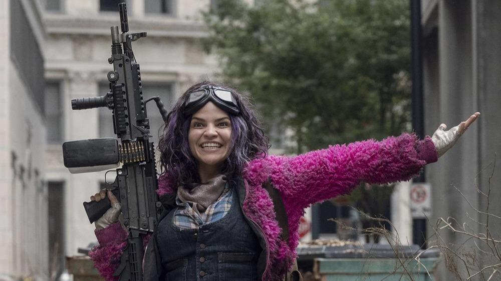 Paola Lázaro as Princess on The Walking Dead