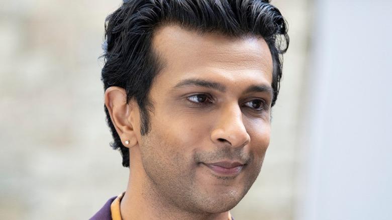 Ravi smiling