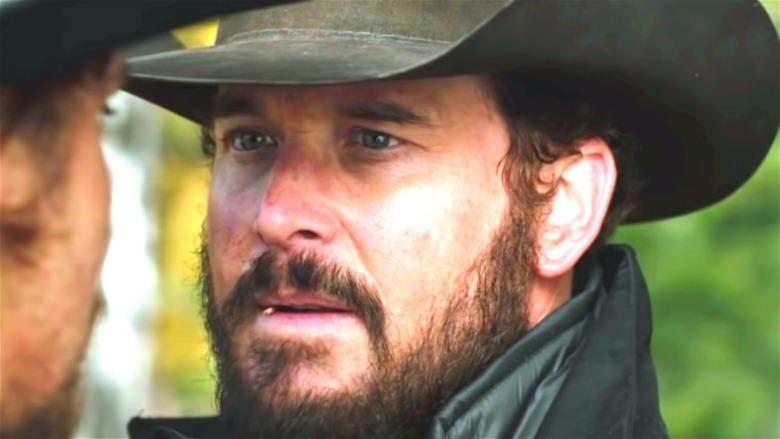 Cole Hauser Rip Wheeler beard toothpick hat