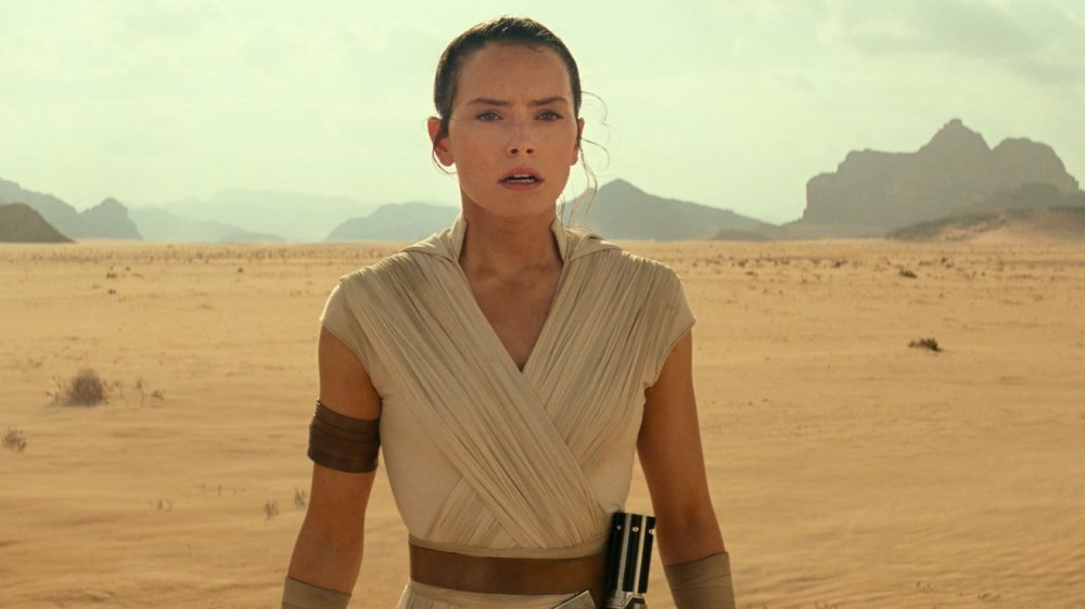 Daisy Ridley as Rey in Star Wars Episode 9 The Rise of Skywalker