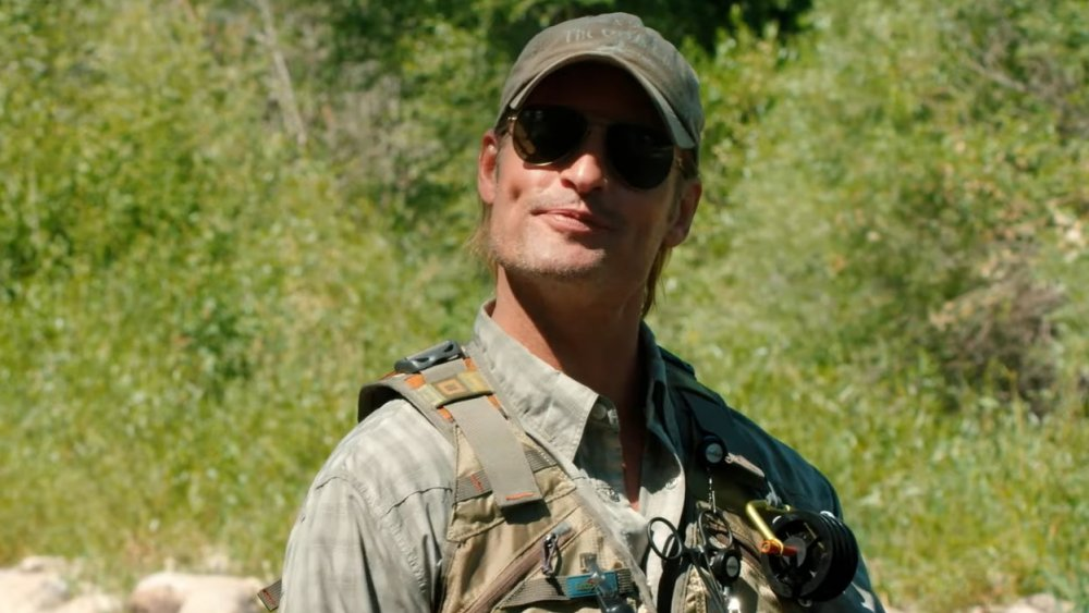 Josh Holloway as Roarke Carter on Yellowstone