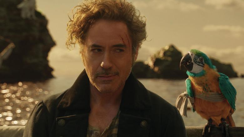Robert Downey, Jr. as Dr. Dolittle in Dolittle