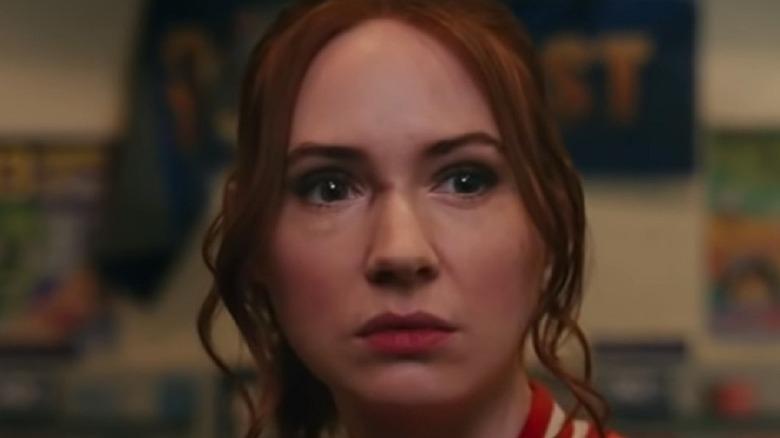 Sam looking worried