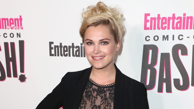 Eliza Taylor smiling