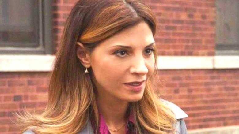 Callie Thorne Sasha Broussard brick wall