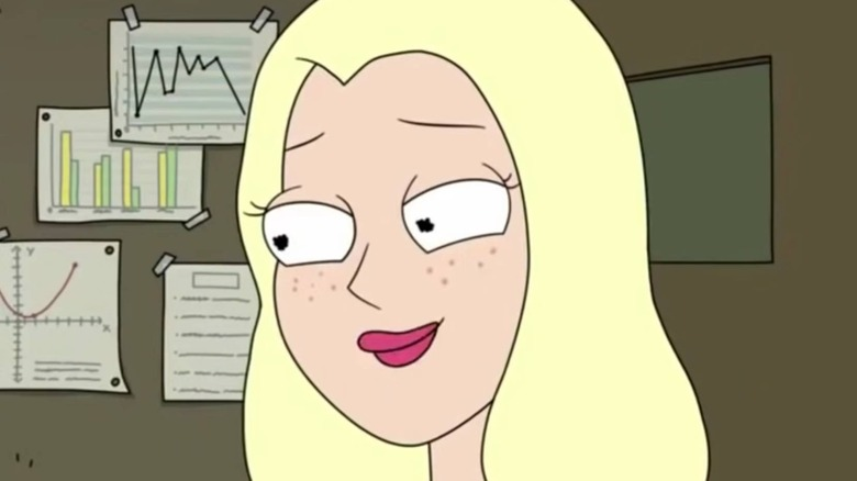 Rick and Morty Diane