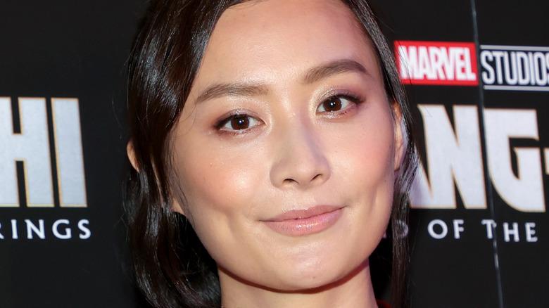 Fala Chen at the Shang-Chi premiere