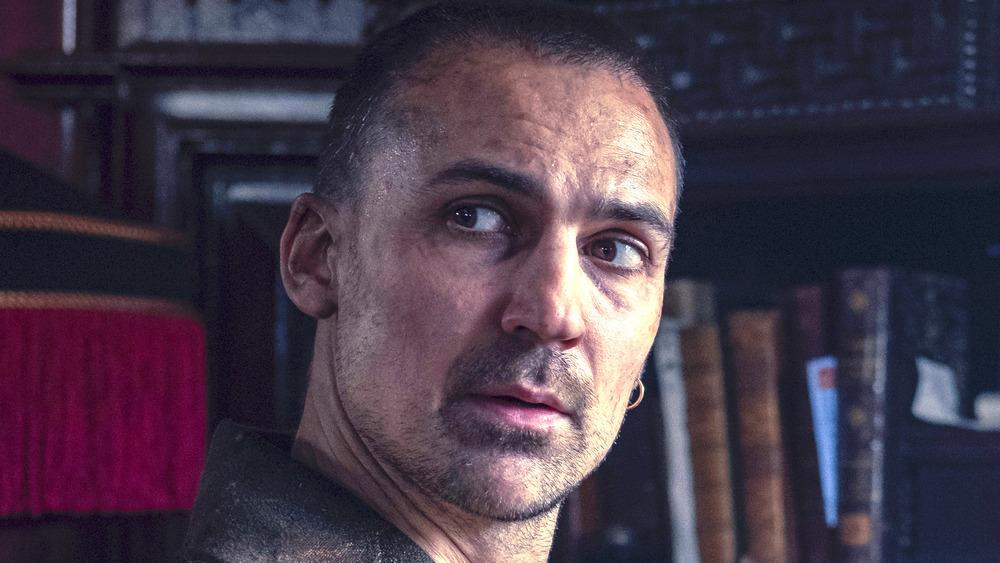 Henry Lloyd-Hughes as Sherlock Holmes scruffy