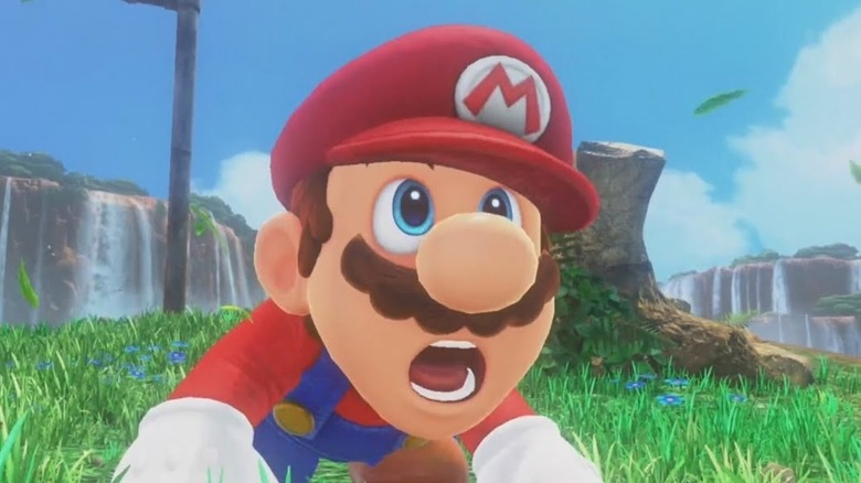 Nintendo Switch Mario Odyssey Shocked
