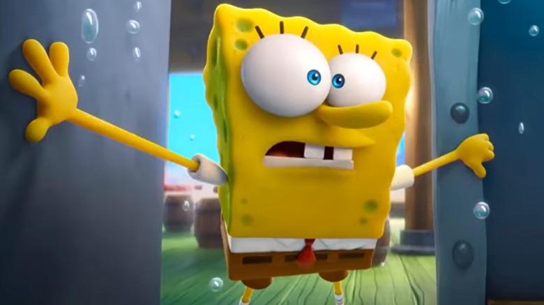 Tom Kenny as SpongeBob SquarePants in The Spongebob Movie: Sponge on the Run