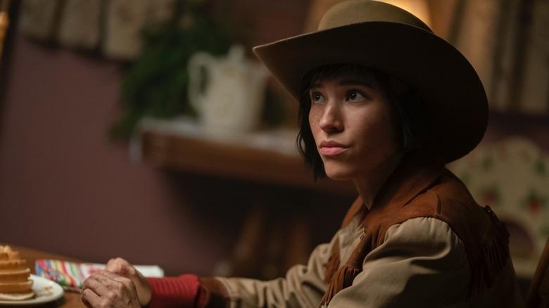 Kelsey Asbille as Swanee Capps on Fargo