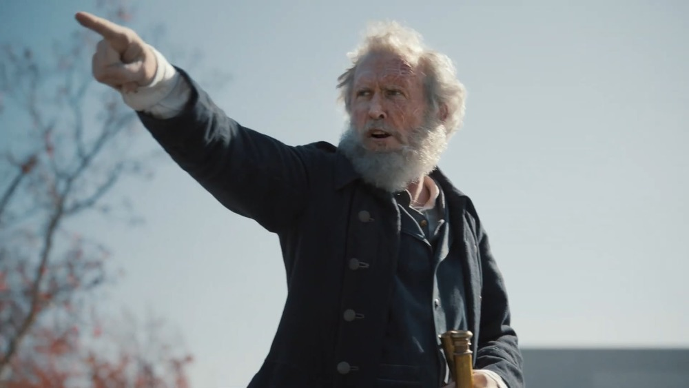 Captain Ahab pointing