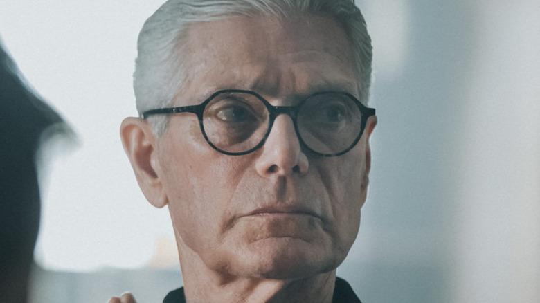 Stephen Lang wearing glasses