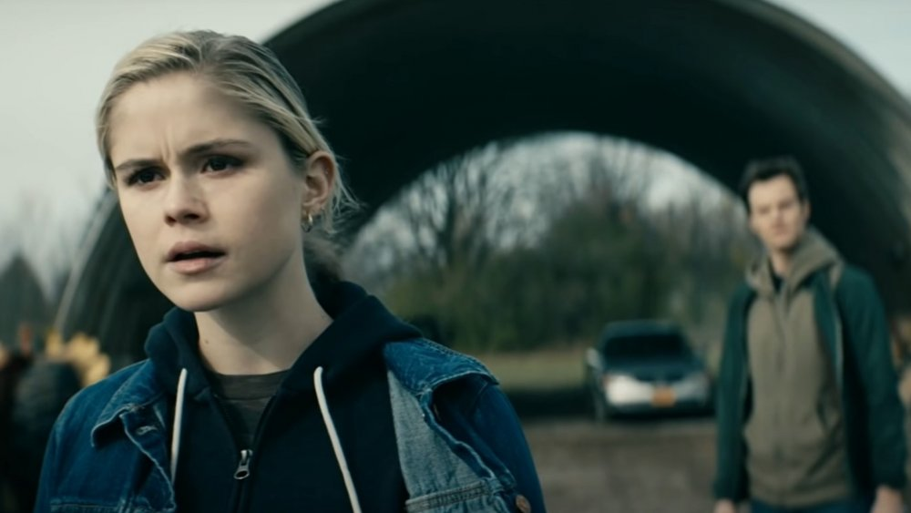 Starlight (Erin Moriarty) prepares for a fight on The Boys