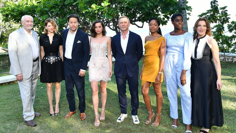 The cast of the upcoming Bond 25