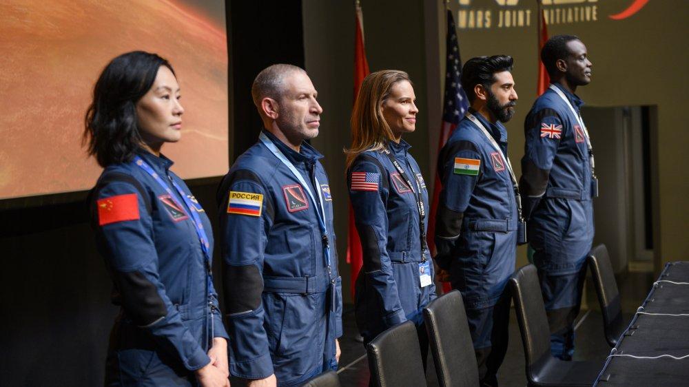 The main cast of Netflix's Away