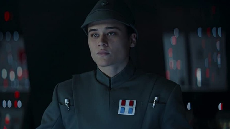 Katy O'Brian as the Comms Officer on The Mandalorian