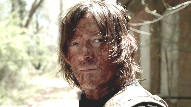 Daryl with a dirty face