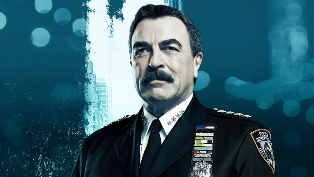 Tom Selleck in Blue Bloods promo materials